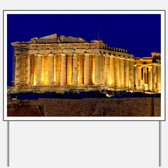 PARTHENON 2 Yard Sign