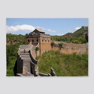 GREAT WALL OF CHINA 3 5'x7'Area Rug