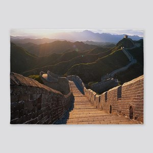 GREAT WALL OF CHINA 2 5'x7'Area Rug
