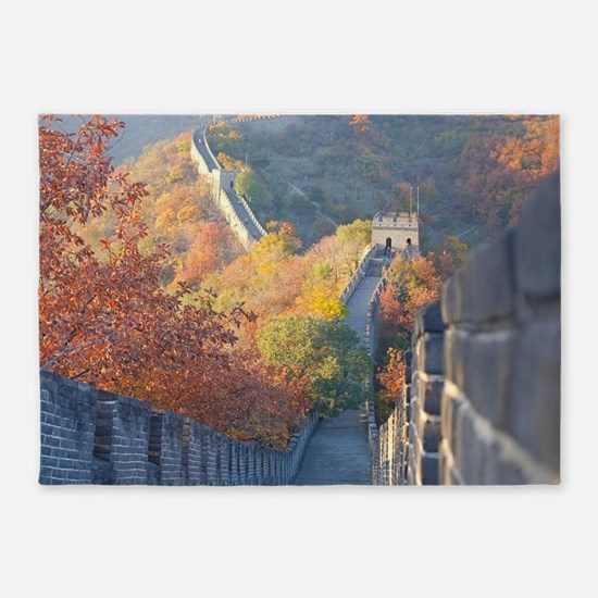GREAT WALL OF CHINA 1 5'x7'Area Rug