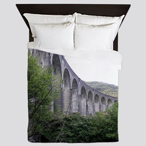 GLENFINNAN VIADUCT 2 Queen Duvet