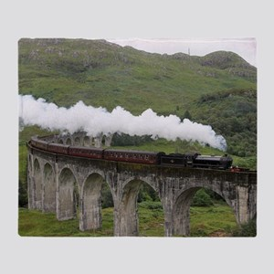 GLENFINNAN VIADUCT 1 Throw Blanket