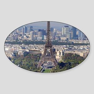 EIFFEL TOWER 2 Sticker (Oval)