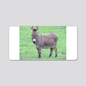 Merlin the Mini Donk Aluminum License Plate