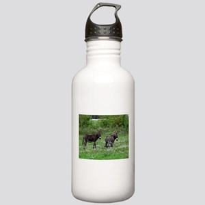 Two Miniature Donkeys Stainless Water Bottle 1.0L