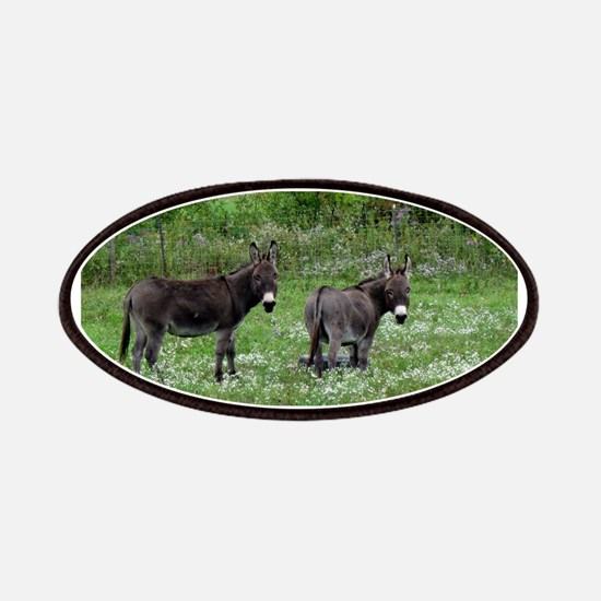 Two Miniature Donkeys Patch