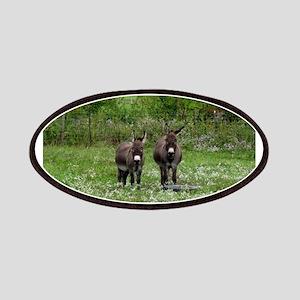 Two Miniature Donkeys (2) Patch