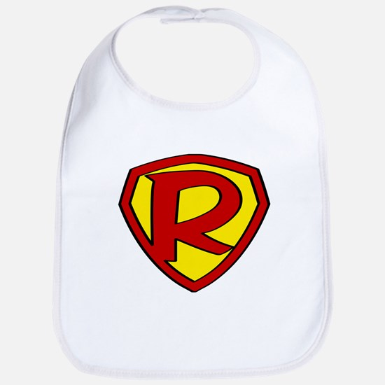 Super R Logo Costume 05 Bib