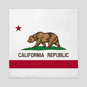 CALIFORNIA BEAR Queen Duvet