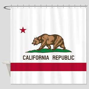 CALIFORNIA BEAR Shower Curtain