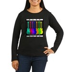 Rainbowear black Women's Long Sleeve Dark T-Shirt