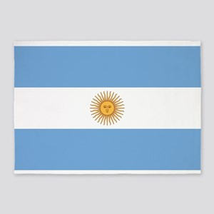 ARGENTINA FLAG 5'x7'Area Rug