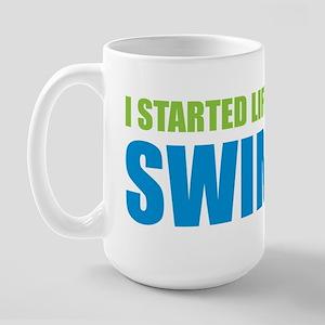 I Started Life The Fastest Sw Large Mug