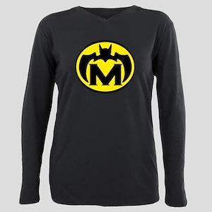 Super M Logo Costume 04 Plus Size Long Sleeve Tee