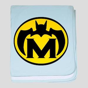 Super M Logo Costume 04 baby blanket