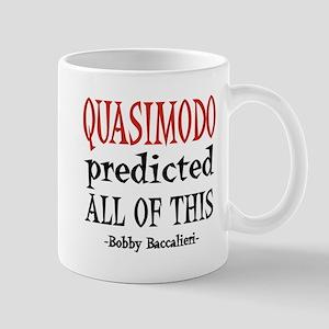 Quasimodo Predictions Mug