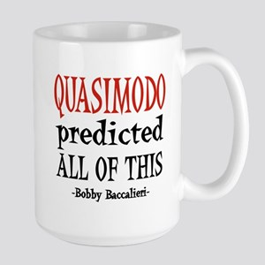 Quasimodo Predictions Large Mug