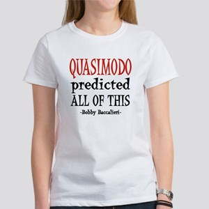Quasimodo Predictions Women's T-Shirt