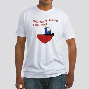 Whatever floats your boat Fitted T-Shirt