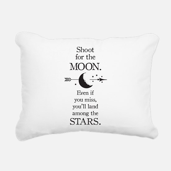 Cute Shoot Rectangular Canvas Pillow