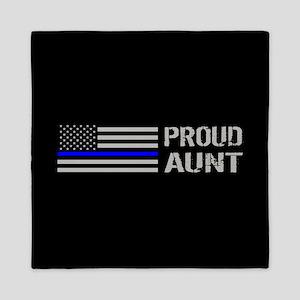 Police: Proud Aunt Queen Duvet