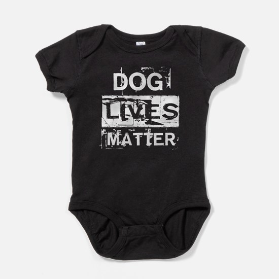 Dog Lives Matter Baby Bodysuit