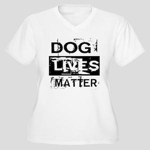 Dog Lives Matter Plus Size T-Shirt