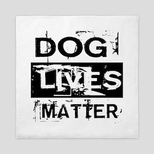 Dog Lives Matter Queen Duvet