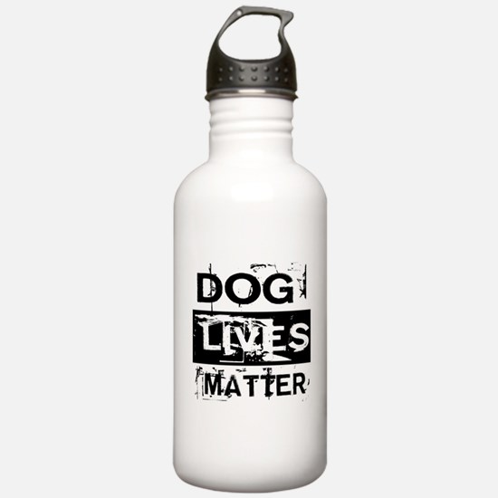 Dog Lives Matter Water Bottle