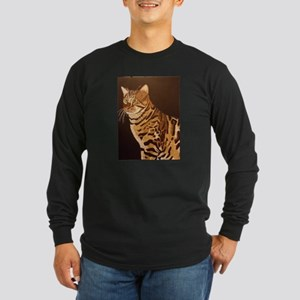 Bengal Kitty Long Sleeve Dark T-Shirt