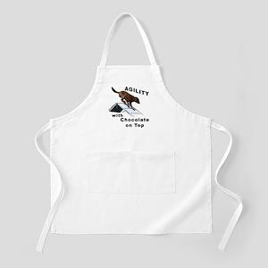 Chocolate Lab Agility BBQ Apron