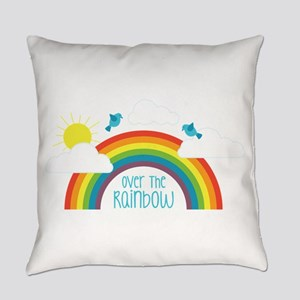 Over The Rainbow Everyday Pillow