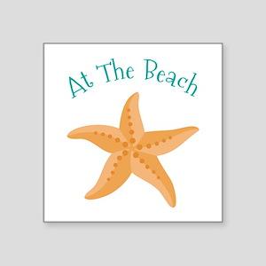 At The Beach Sticker