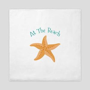 At The Beach Queen Duvet