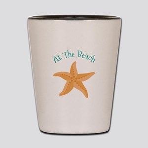 At The Beach Shot Glass