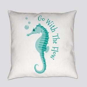 Go With The Flow Everyday Pillow