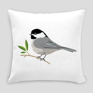 Black-Capped Chickadee Everyday Pillow