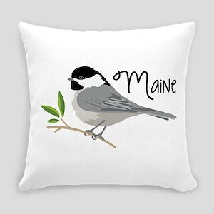 maiNe Chickadee Everyday Pillow