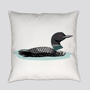 Great Northern Loon Everyday Pillow