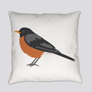 American Robin Everyday Pillow