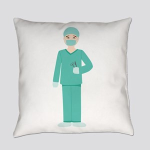 Male Surgeon Everyday Pillow