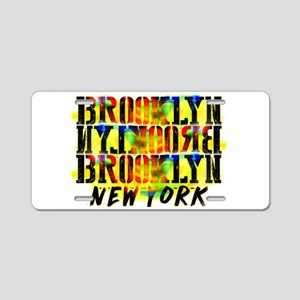 BROOKLYN, NEW YORK! Aluminum License Plate