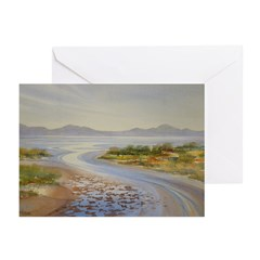 Bay at Ebb Tide Note Cards (Pk of 10)