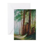 Redwood Forest Note Cards (Pk of 10)