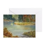Pond at Silver Lake Note Cards (Pk of 10)
