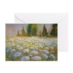 Field of Queen Anne's Lace Note Cards (Pk of 10)