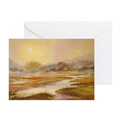 A Cold Winter Morning Note Cards (Pk of 10)