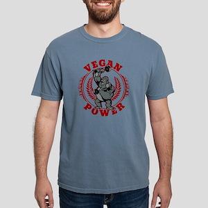 Vegan Power Bodybuilder Mens Comfort Colors Shirt