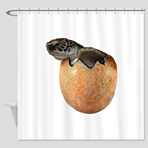 HATCHING NOW Shower Curtain