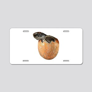 HATCHING NOW Aluminum License Plate